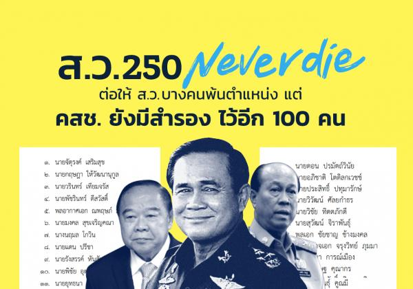 NCPO appointed 100 substitutions for Senator