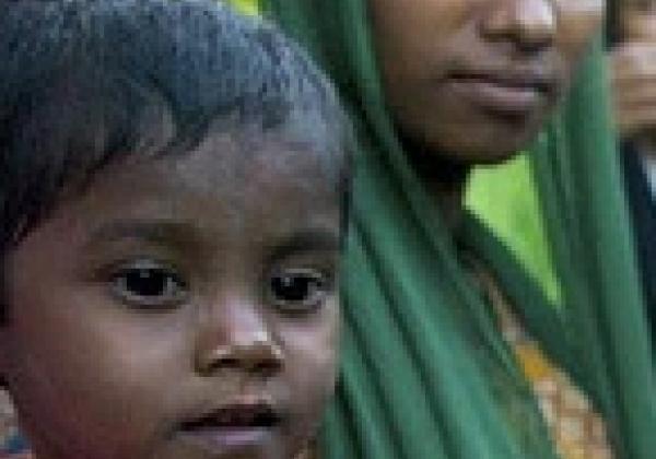 Rohingya kid
